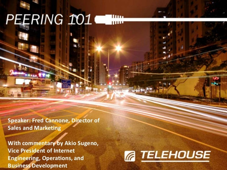 Speaker: Fred Cannone, Director of Sales and Marketing<br />With commentary by Akio Sugeno, Vice President of Internet Eng...