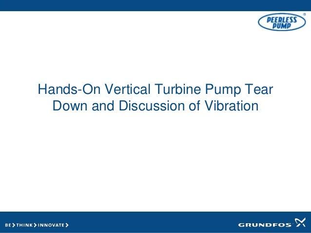 Peerless Pump Prevent Vibration - Carotek Process Solutions Summit