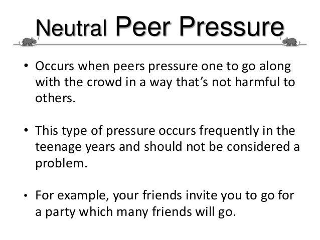6 Negative Effects Of Peer-Pressure