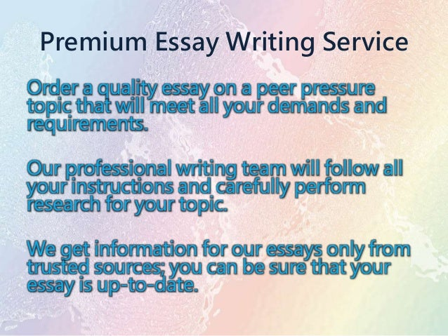 Research Essay Thesis  English Essay About Environment also Essay On Healthy Living Exemplification Essays Peer Pressure Thesis Statement Argumentative Essay
