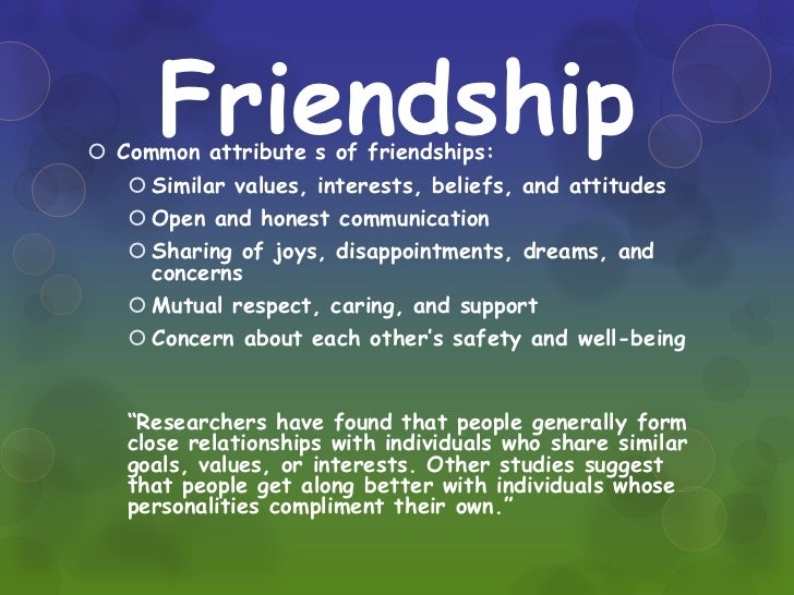 Relationship between dating and friendship