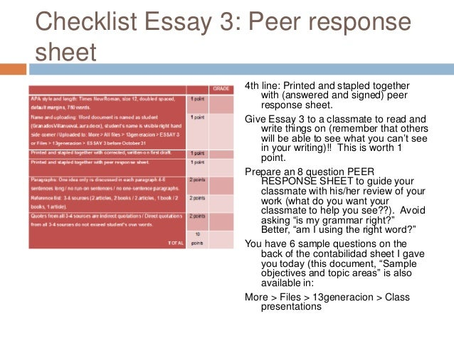 How to write a review response essay?