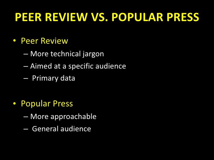 peer review guest lecture by pam