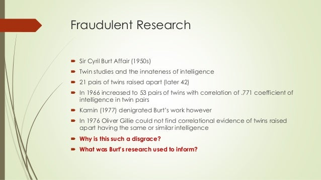 Science, Ideology, and the Media: The Cyril Burt Scandal ...