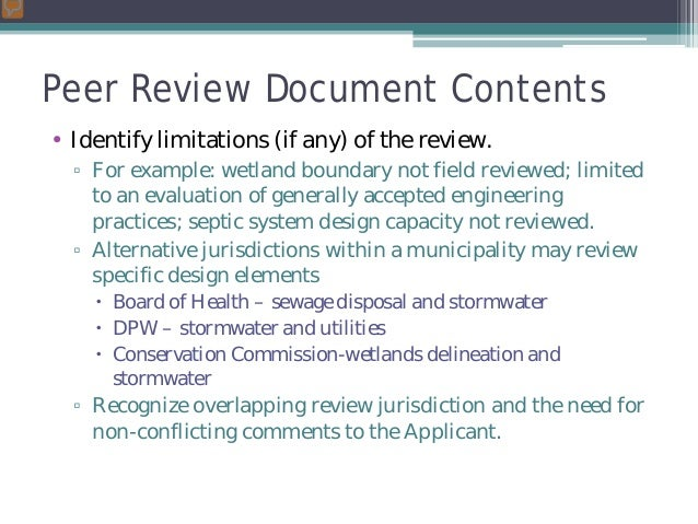 Peer Review And 53 G