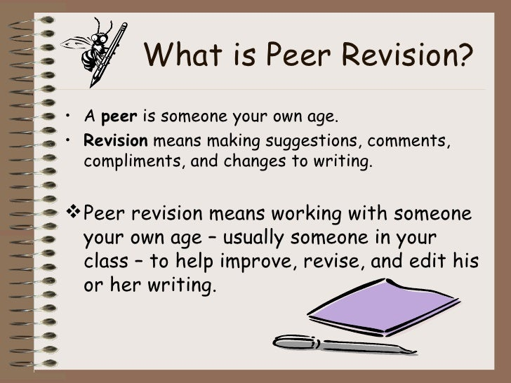peer revision ppt 3 what is peer revision