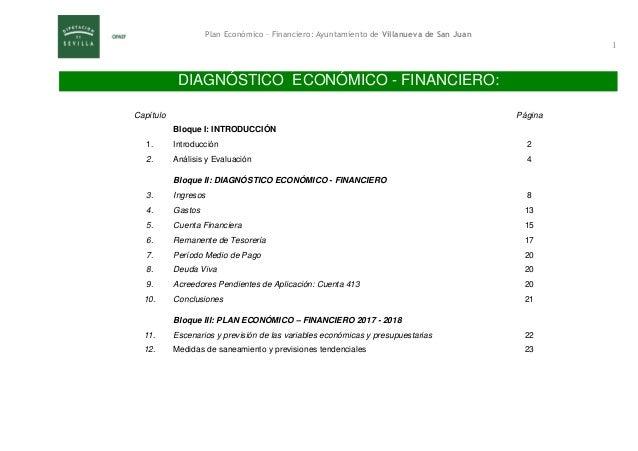 Plan económico-financiero 2017-2018 definitivo Villanueva de San Juan Slide 2