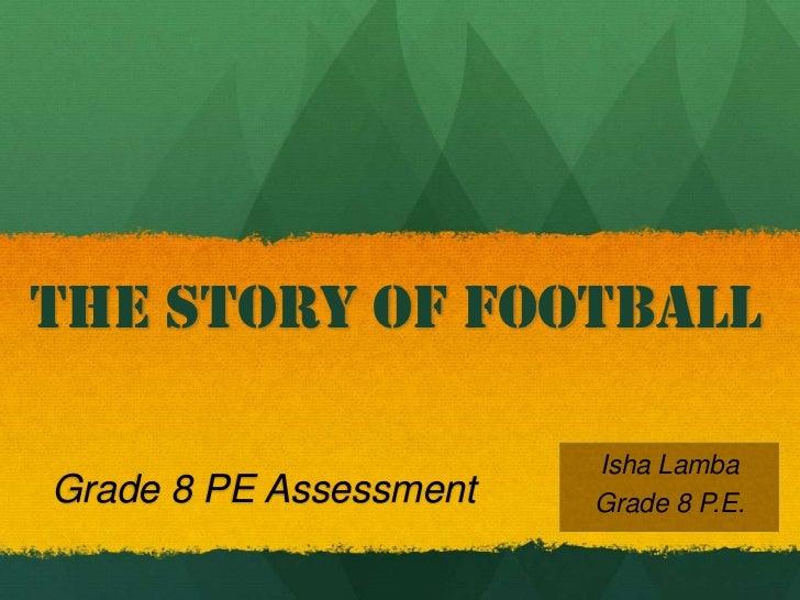 Pe football assignment 8