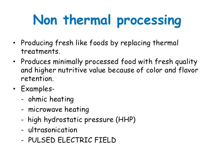 principles of thermal processing pdf