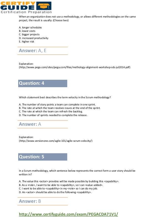 Pegasystems Pegacda71 v1 Exam Dumps Questions and Answers