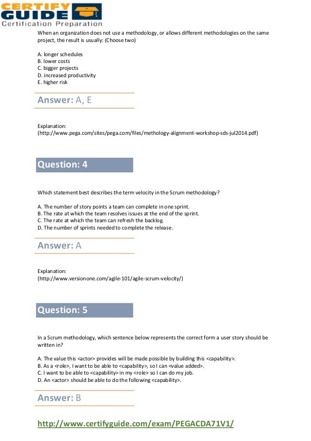 Pegasystems Pegacda71 V1 Exam Dumps Questions And Answers