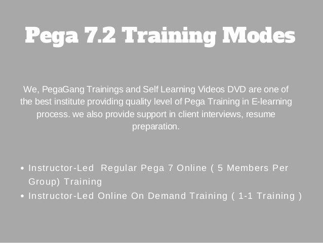 Live Pega Csa Training Self Learning Videos Pegagang