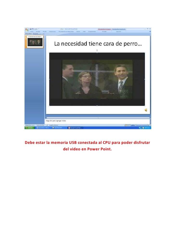 Pegado De Video Procoro Slide 2