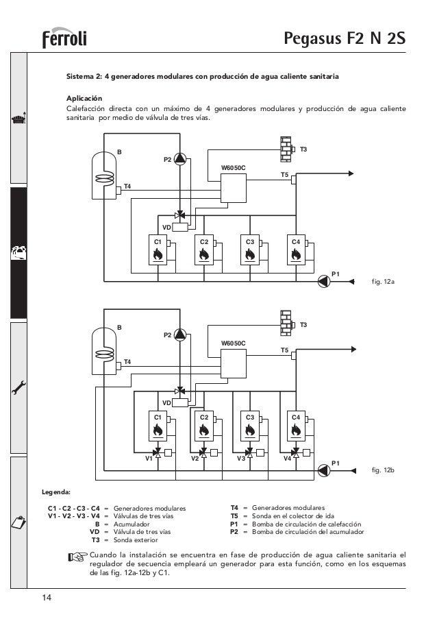 Manual Caldera Ferroli Pegasus F2 N 2S