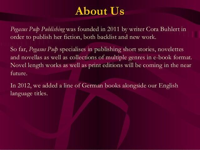 Pegasus Pulp Publishing 2013 Catalogue Slide 3