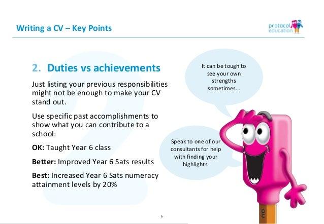How to Write a Successful Teaching CV