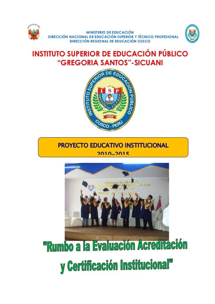 MINISTERIO DE EDUCACIÓN    DIRECCIÓN NACIONAL DE EDUCACIÓN SUPERIOR Y TÉCNICO PROFESIONAL              DIRECCIÓN REGIONAL ...