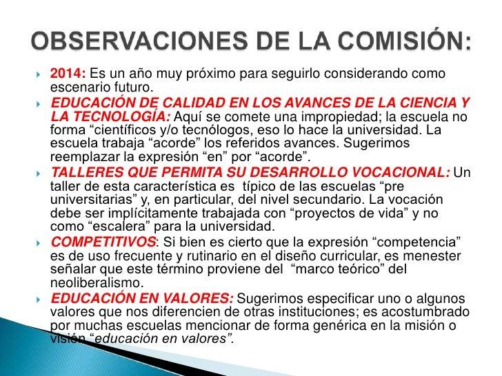 SE TIENE EN CUENTA LAS SIGUIENTES CONSIDERACIONES:<br />ES REALISTA Y POSIBLE DE ALCANZAR.<br />POSITIVA Y ALENTADORA.<br ...