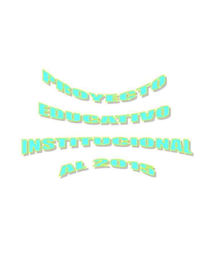 """1.1.   DE LA INSTITUCIÓN EDUCATIVA          1.1.1. Denominación:              Institución Educativa """"San Isidro Labrador N..."""
