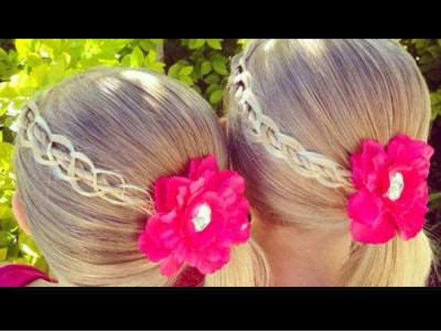 Peinados De Nina Recogidos Y Semirecogidos Faciles Y Bonitos - Peinados-de-nia
