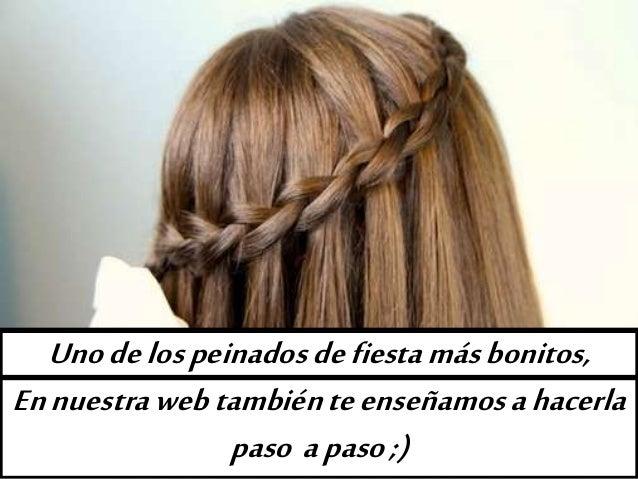 10 peinados de ni a ideas look casual y fiesta f ciles - Peinados faciles y rapidos paso a paso ...