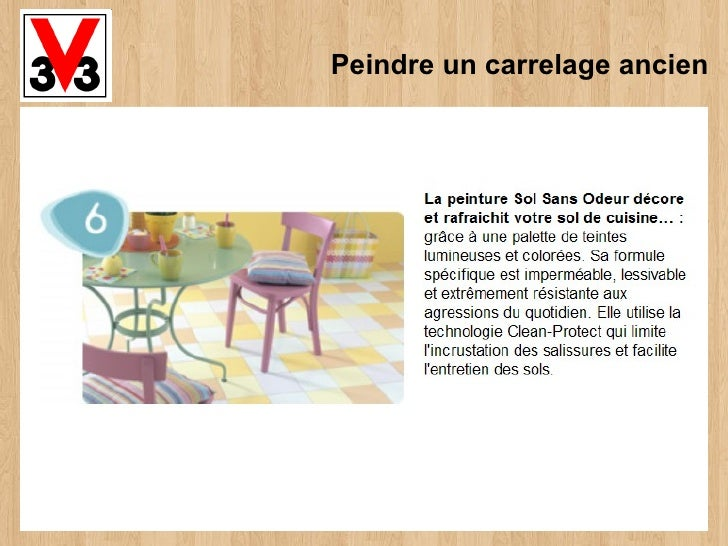 peindre un carrelage ancien. Black Bedroom Furniture Sets. Home Design Ideas