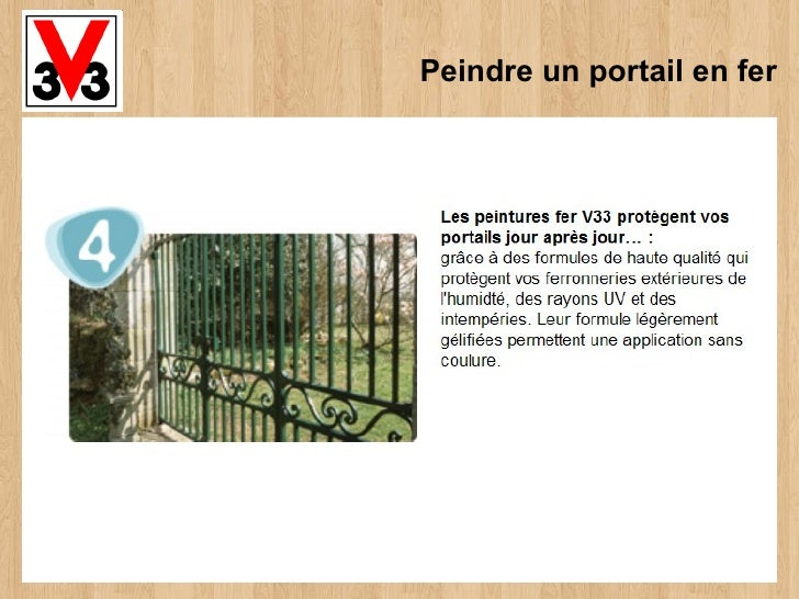 Peindre un portail en fer - Peindre un portail en bois ...