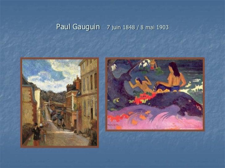 Peintres français du xx siècle Slide 3