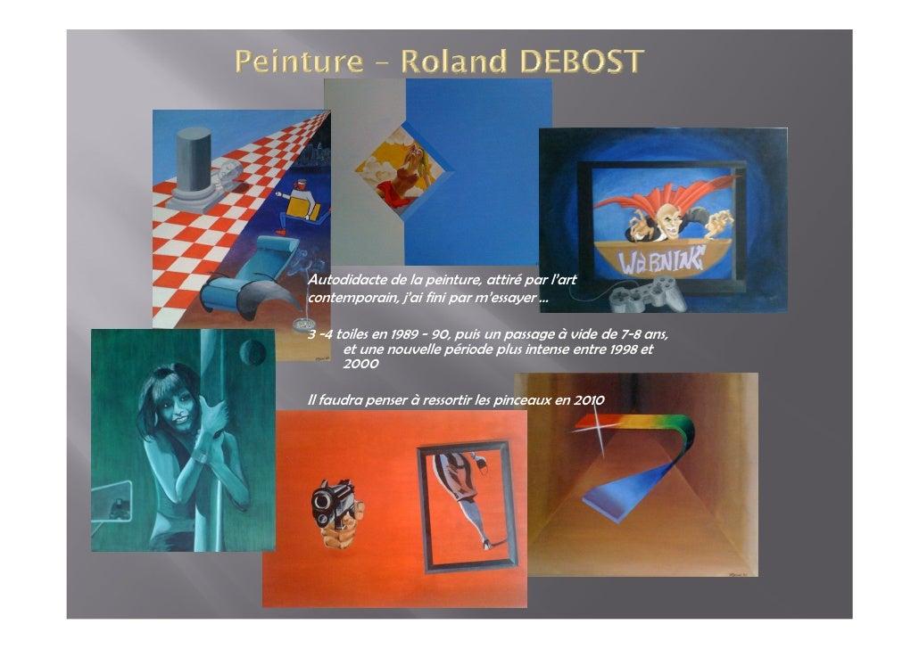 Autodidacte de la peinture, attiré par l'art contemporain, j'ai fini par m'essayer …  3 -4 toiles en 1989 - 90, puis un pa...