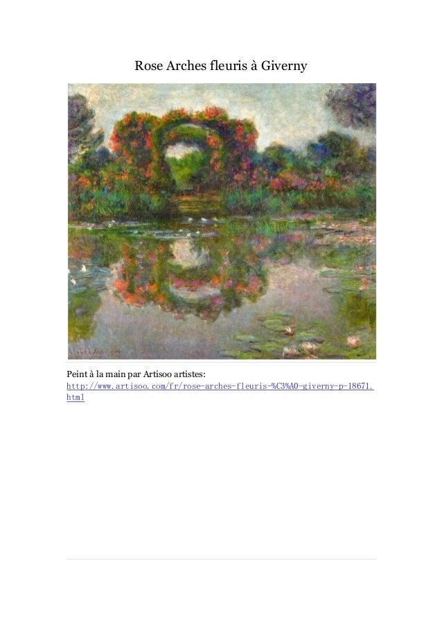 Peintures le jardin de monet  - artisoo Slide 2
