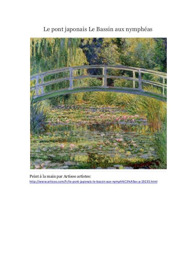 Peintures le jardin de monet  - artisoo Slide 3