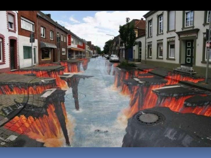 Peinture sur route