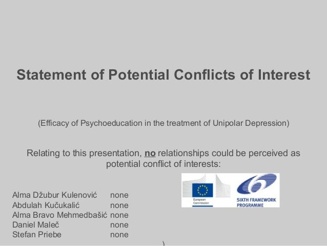 Pe in unipolar depression madrid