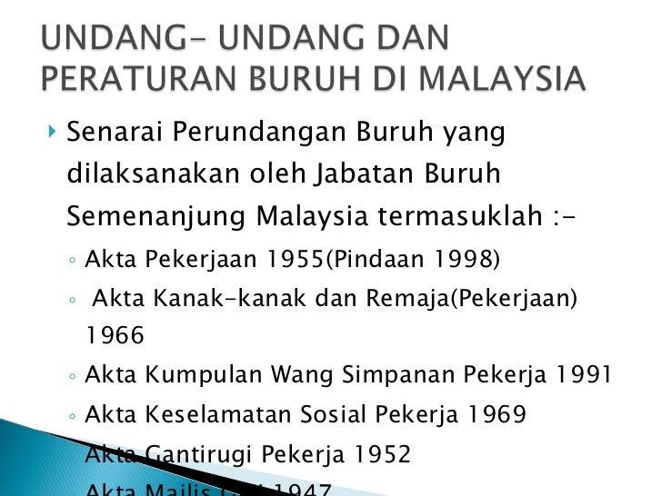 Jabatan Buruh Malaysia