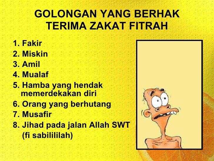 Pel 18 Zakat Fitrah