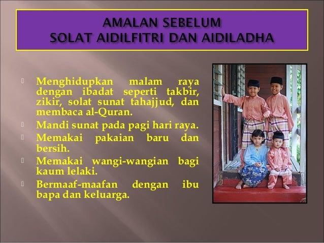 Image result for Amalan Menjelang Syawal (Hari Raya AidilFitri)