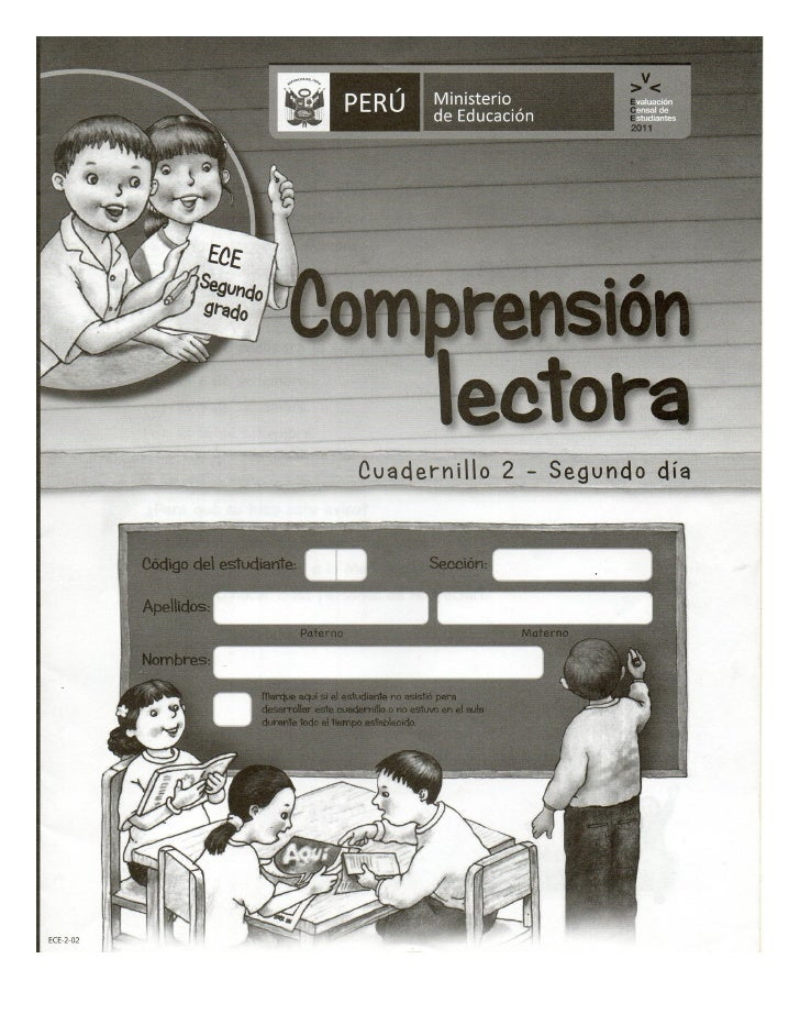 Pela ece 2° prim comprension lectora cuadernillo2