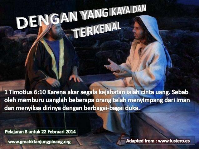 1 Tawarikh 29:12Sebab kekayaan dan kemuliaan berasal dari pada-Mu dan Engkaulah yang berkuasa atas segala-galanya; dalam t...