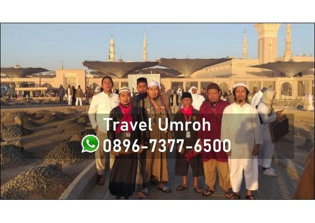 Travel Umroh Yogyakarta, WA/Telp: 0896-7377-6500