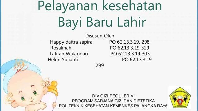 Pelayanan kesehatan bayi baru lahir
