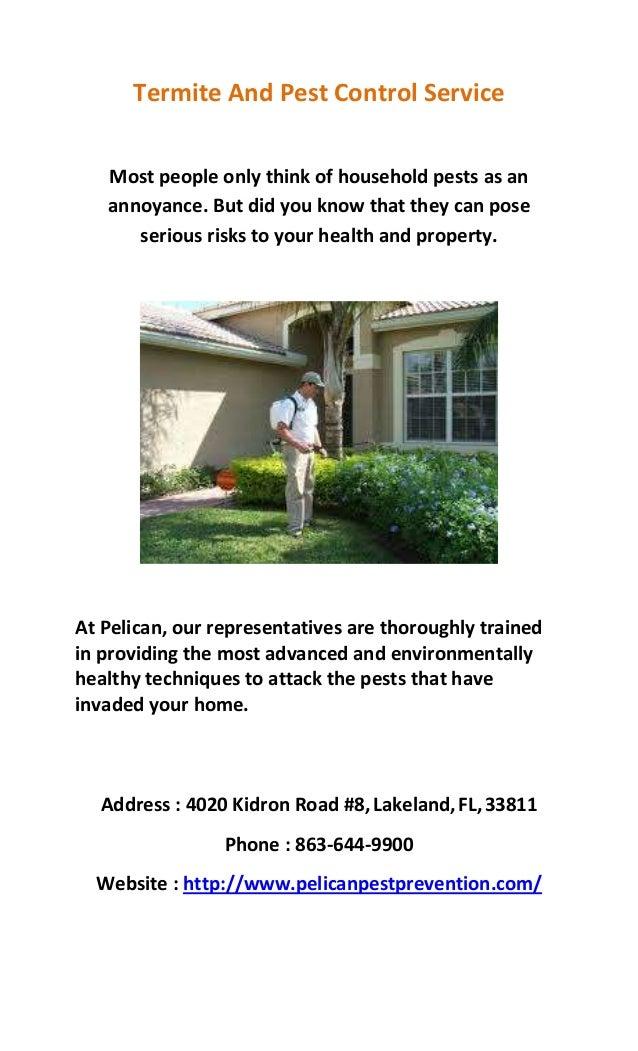 Pelican Pest Prevention Termite And Pest Control Slide 2