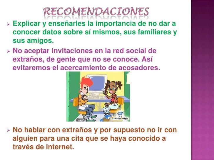 Los peligros redes sociales  authorstream.
