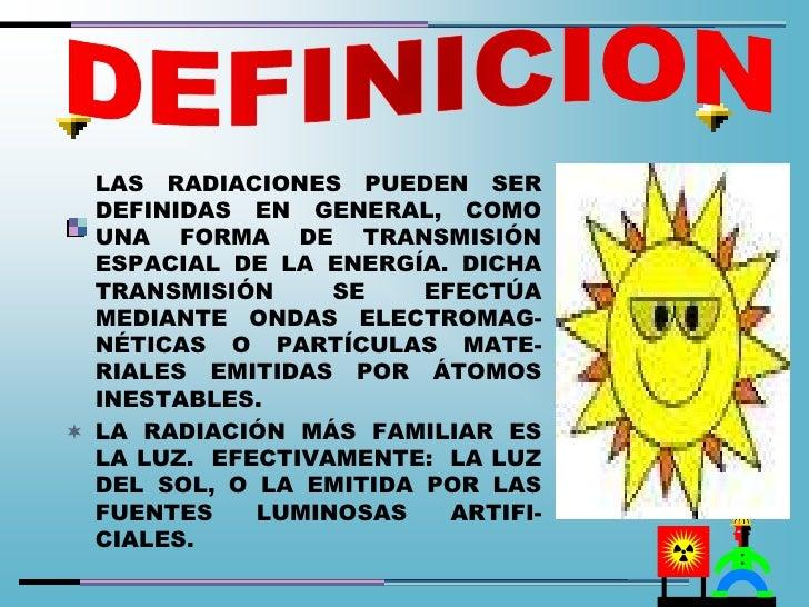 Peligro radiaciones sena bucaramanga cesar 2011 for Definicion de beta