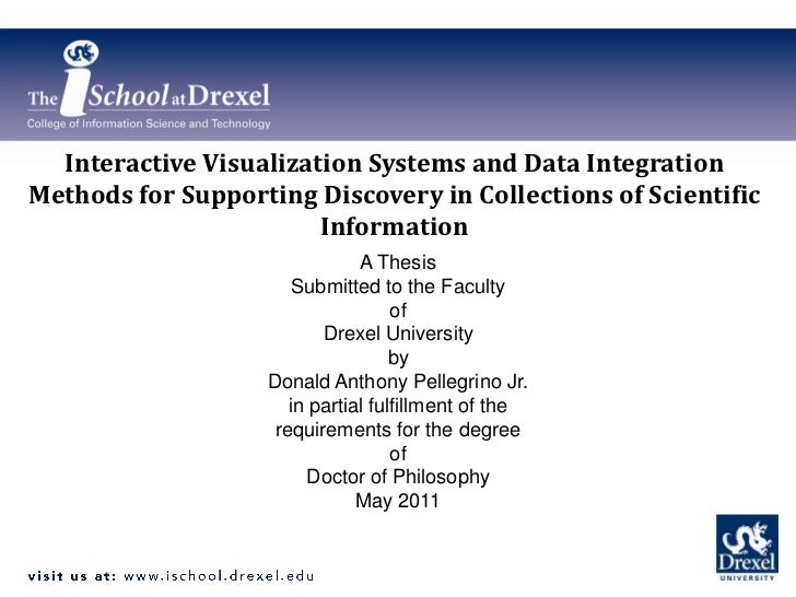 Interactive Visualization Systems and Data Integration Methods for Supporting Discovery in Collections of Scientific Infor...