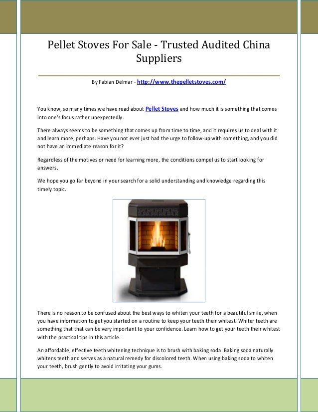 Pellet Stoves For Sale - Trusted Audited China                       Suppliers____________________________________________...