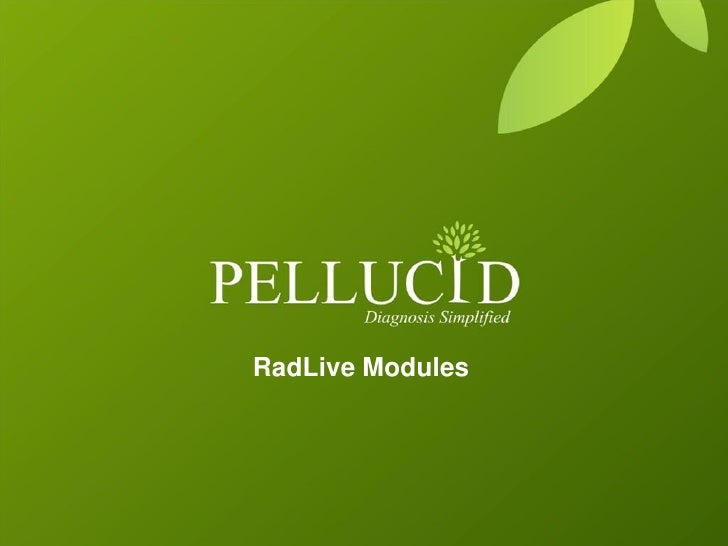 RadLive Modules