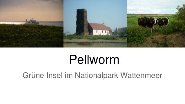 Pellworm Grüne Insel im Nationalpark Wattenmeer