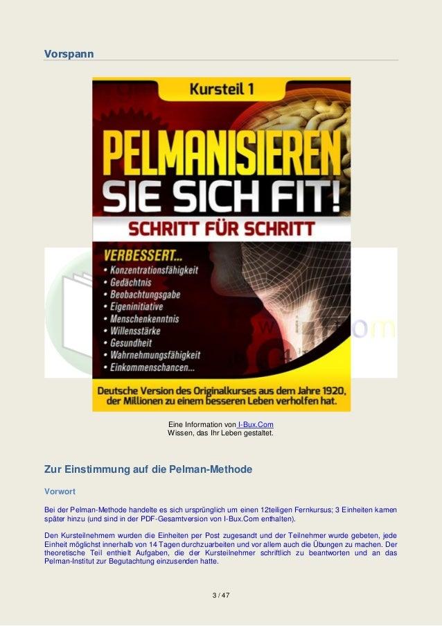 Pelmanisieren sie-sich-fit Slide 3