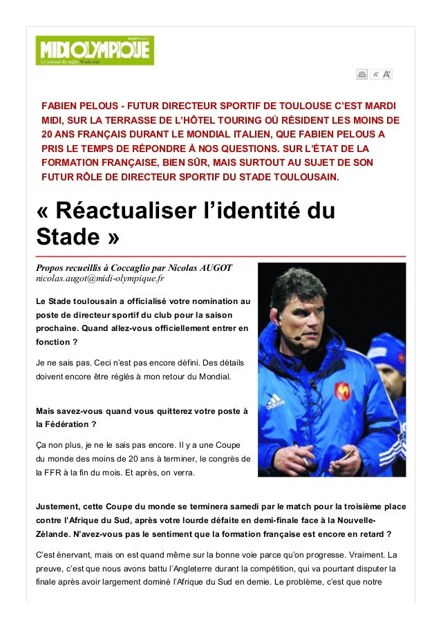19/6/2015 DetailleArticle http://ejournal.midiolympique.fr/epaper/xml_epaper/Vert/19_06_2015/pla_5000_Midi_Olympique_Ver...