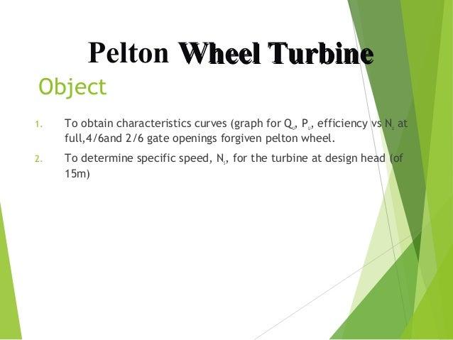 Pelton turbine presentation